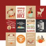 "3""X4"" Journaling Cards Paper - My Favorite Fall - Echo Park"