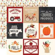 "4""X4"" Journaling Cards Paper - My Favorite Fall - Echo Park"