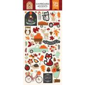Chipboard Stickers - My Favorite Fall - Echo Park