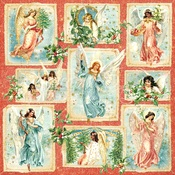 Radiant Beams Paper - Joy To The World - Graphic 45