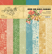 Joy To The World 12x12 Patterns & Solid Pad - Graphic 45