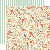 Fall Floral Paper - Fall Market - Carta Bella