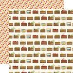Harvest Crates Paper - Fall Market - Carta Bella