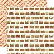 Harvest Crates Paper - Fall Market - Carta Bella