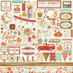 Fall Market Element Stickers - Carta Bella