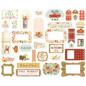 Fall Market Frames & Tags Ephemera - Carta Bella
