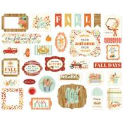 Fall Market Icons Ephemera - Carta Bella