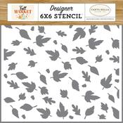 Autumn Breeze Leaves Stencil - Fall Market - Carta Bella