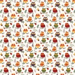Whoo Loves You Paper - Mad Plaid Fall - Photoplay - PRE ORDER