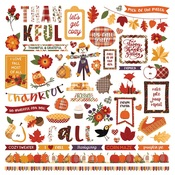 Sticker Sheet - Mad 4 Plaid Fall - Photoplay