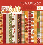 Mad 4 Plaid Fall 6x6 Pad - Photoplay