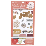 Pink Paislee Sticker Book