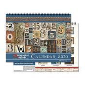 Mechanical Fantasy 2020 Calendar - Stamperia - PRE ORDER