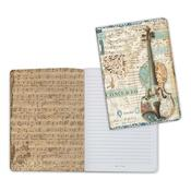 Violin, Music A5 Lined Notebook - Stamperia