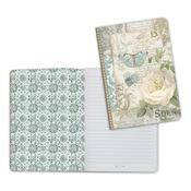 Patchwork 1, Azulejos A5 Lined Notebook - Stamperia