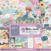 Johanna Rivero Aires de Libertad 12x12 Paper Pad - Stamperia