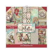 Alice 8x8 Paper Pad - Stamperia