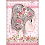 Pink Fairy Rice Paper - Stamperia