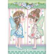 Fairies & Butterflies Rice Paper - Stamperia