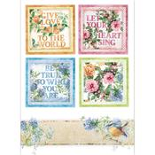 Flowers For You Cards Rice Paper - Stamperia