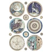 Cosmos Sphere Rice Paper - Stamperia