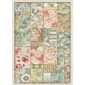 Patchwork Rice Paper - Stamperia