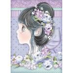 Lilac Fairy Rice Paper - Stamperia