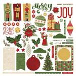 Christmas Memories Card Kit Sticker Sheet - Photoplay