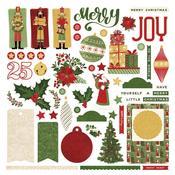 Christmas Memories Card Kit Sticker Sheet - Photoplay - PRE ORDER