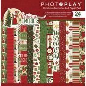 Christmas Memories 6 x 6 Paper Pad - Photoplay - PRE ORDER