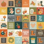2x2 Elements Paper - Fall Farmhouse - Simple Stories