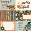 4x6 Elements Paper - Fall Farmhouse - Simple Stories