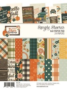 Fall Farmhouse 6x8 Paper Pad - Simple Stories - PRE ORDER