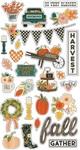 Fall Farmhouse Chipboard - Simple Stories