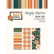 Fall Farmhouse Washi Tape - Simple Stories