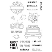 Fall Farmhouse Stamps - Simple Stories