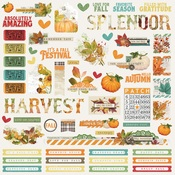 Autumn Splendor Combo Sticker - Simple Stories