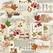 Grateful Hearts Paper - Autumn Splendor - Simple Stories