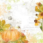 Fabulous Fall Paper - Autumn Splendor - Simple Stories