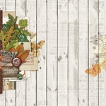 Fall Blessings Paper - Autumn Splendor - Simple Stories