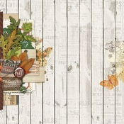 Fall Blessings Paper - Autumn Splendor - Simple Stories