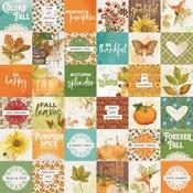 2x2 Elements Paper - Autumn Splendor - Simple Stories