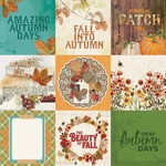 4x4 Elements Paper - Autumn Splendor - Simple Stories