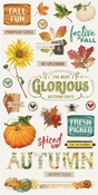 Autumn Splendor Chipboard Stickers - Simple Stories