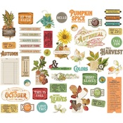 Autumn Splendor Bits & Pieces - Simple Stories