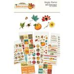 Autumn Splendor Mini Sticker Tablet - Simple Stories
