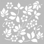 Autumn Splendor 6x6 Stencil - Simple Stories