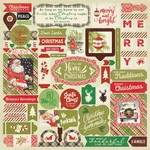 Rejoice Details Cardstock Sticker Sheet - Authentique  ORDE