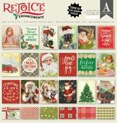 Rejoice Enhancements 12 x 12 Paper Pad - Authentique