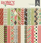 Rejoice 12 x 12 Paper Pad - Authentique
